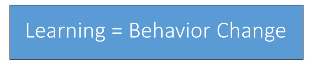 learning-behavior-change