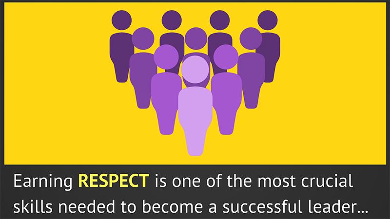 ways to get respect