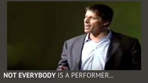 Stop Trying to Be Tony Robbins