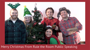 Merry Christmas From Rule the Room Public Speaking