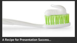Make Public Speaking as Easy as Brushing Your Teeth