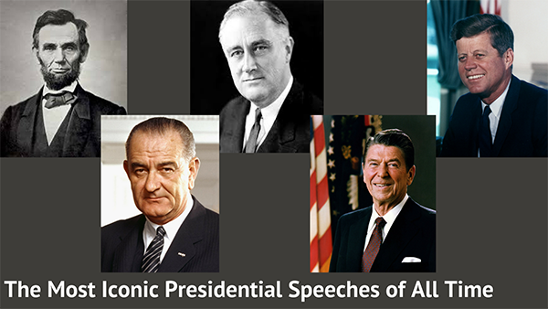 Five of the Greatest Presidential Speeches of All Time