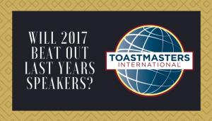 Toastmasters: Crème De La Crème