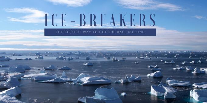 Public Speaking Ice Breakers