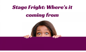 The underlying causes of stage fright